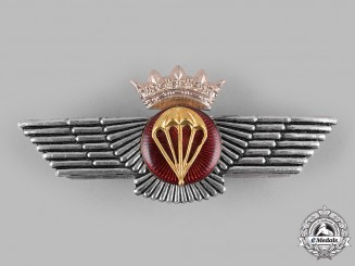 Spain, Francoist Era. An Air Force (Ejército del Aire) Parachute Wings (1936-1975)