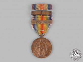 United States. A Victory Medal, Russia Clasp