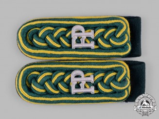 Germany, Wehrmacht. A Set of Feldpost Lagermeister Shoulder Boards