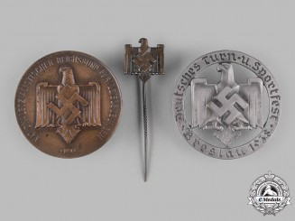 Germany, NSRL. A Lot of National Socialist League of the Reich for Physical Exercise (NSRL) Badges