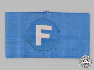 Germany, RLB. A Reich Air Protection League (RLB) Telephone Operator's Armband