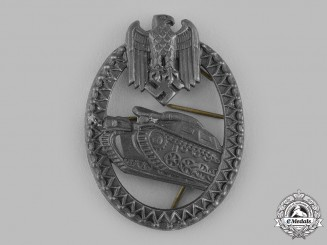 Germany, Heer. An Armoured Marksmanship Lanyard Shield, Grades 1-4