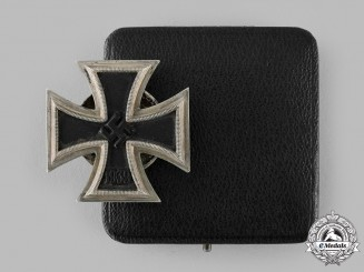 Germany, Wehrmacht. A 1939 Iron Cross I Class by Paul Meybauer, with Case, Dietrich Maerz Collection