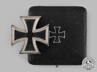 Germany, Wehrmacht. A 1939 Iron Cross I Class by Wilhelm Deumer, with Case, Dietrich Maerz Collection