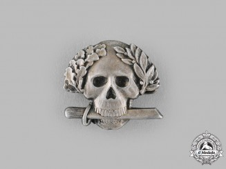 Italy, Kingdom. An Arditi Skull Badge