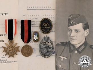 Germany, Heer. A Medal Group to Josef Waldmann, 1. Schwadron, Aufklärungsabteilung 7