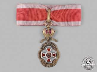 Austria, Imperial. An Order of Leopold, Badge for Officers (Rothe Copy)