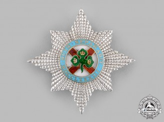 United Kingdom. A Most Illustrious Order of St. Patrick, Breast Star (Collectors Copy)
