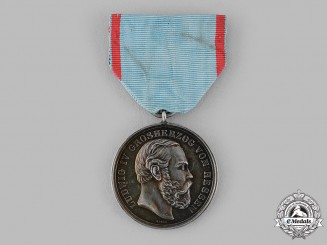 Hesse, Grand Duchy. A General Merit Medal, by Johann Adam Ries