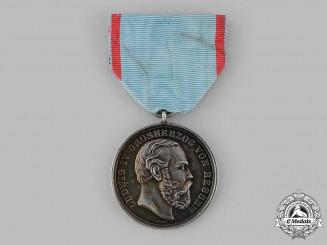 Hesse, Grand Duchy. A General Merit Medal, by Johann Adam Ries