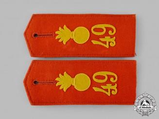Germany, Imperial. A Set of Heer 7th Field Artillery Regiment Shoulder Straps