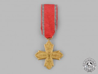 Hesse, Grand Duchy. A Military Medical Cross 1870/71