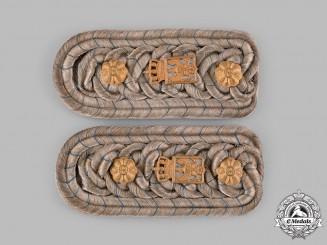 Germany, Imperial. A Set of Militärbeamte Hauptmann Shoulder Boards