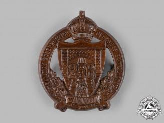 Canada, CEF. A 256th Infantry Battalion Cap Badge
