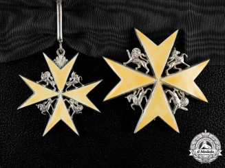 United Kingdom. A Spink-Made Order of St. John, Knight of Justice, c.1970