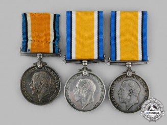 United Kingdom. Three British War Medals