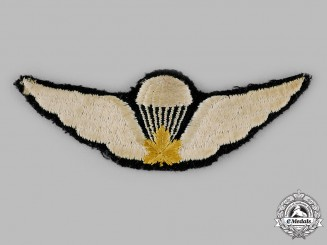 Canada. A Canadian Airborne Parachute Corps Jump Wings, c.1940