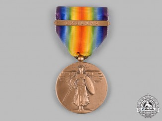 United States. A World War I Victory Medal, England