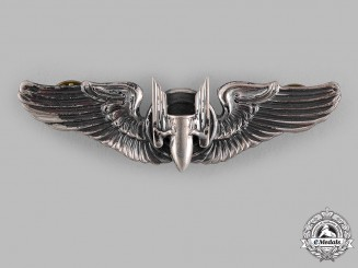 United States. An Army Air Forces Aerial Gunner Badge, by N.S. Meyer, c.1943