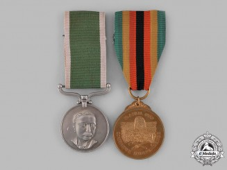 Rhodesia, Republic; Zimbabwe, Republic. Two Medals
