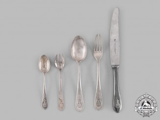 Germany, Third Reich. A Set of Flatware to the von Ribbentrop Family