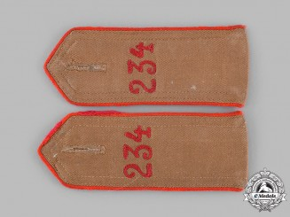 Germany, HJ. A Set of HJ Bann 234 Shoulder Straps