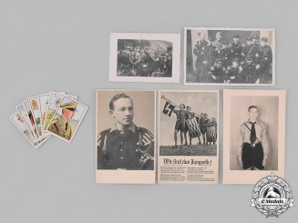 Germany, HJ. A Lot of HJ and Deutsches Jungvolk (DJ) Photos and Cards