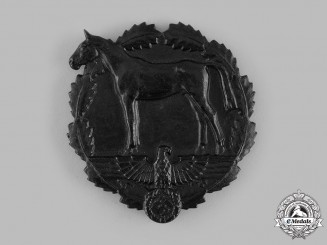 Germany, SA. A SA Plaque for Services to the National Socialist Equestrian Youth