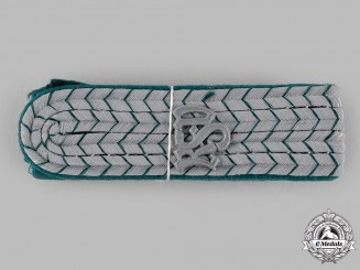 Germany, Reichsfinanzverwaltung. A Set of Reichsfinanzverwaltung (Customs Service) Oberzollsekretar Shoulder Boards
