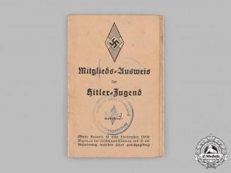 Germany, HJ. A Membership Card to Josef Steels