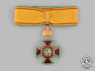 Ethiopia, Empire. An Order of Emperor Menelik II, III Class Commander, c.1950