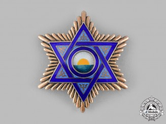 Morocco, Spanish Protectorate. An Order of Mehdauia, Grand Officer's Star, c.1945