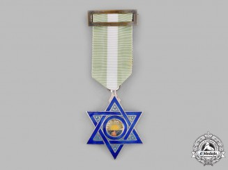 Morocco, Spanish Protectorate. An Order of Mehdauia, Officer's Badge, c.1955