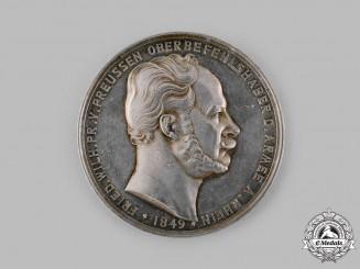 Prussia, Kingdom. An 1849 King Friedrich Wilhelm V Campaign Medal by Friedrich Wilhelm Kullrich