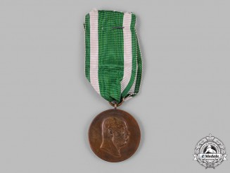 Saxe-Altenburg, Duchy. A Medal for 50 Years of Reign