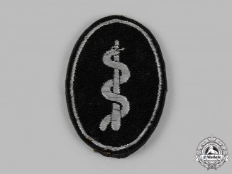 Germany, SS. An SS Officer Medical Trade Insignia