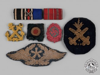 Germany, Third Reich. A Lot of Second War Period Cloth Insignia