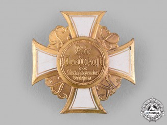 Germany, Weimar Republic. An Honour Cross of the Prussian Warrior Association, I Class, by Heinrich Timm