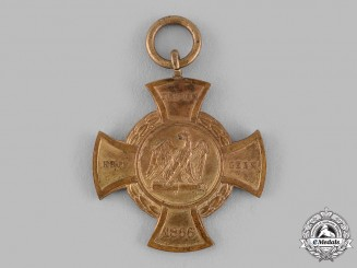 Prussia, Kingdom. A Commemorative Cross for Faithful Fighters 1866