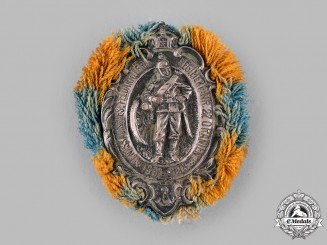 Germany, Imperial. A 27th Field Artillery Regiment 75th Anniversary Badge, by G. Lindner