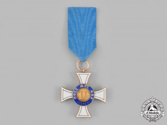 Prussia, Kingdom. An Order of the Crown, III Class Cross in Gold, by Johann Wagner & Sohn, c.1900