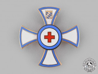Germany, Federal Republic. A Bavarian Red Cross Honour Badge