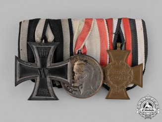 Germany, Imperial. A Medal Ribbon Bar