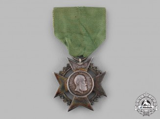 Saxe-Meiningen, Duchy. A Silver Merit Cross for Art and Science, Prototype Example