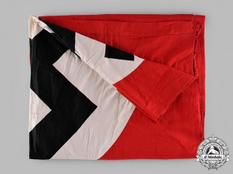 Germany, Third Reich. A NSDAP Banner Flag