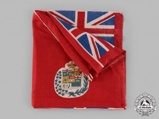 Canada. A Rare Canadian Red Ensign Bunting Flag, c.1885