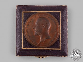 United Kingdom. A Colonial and Indian Exhibition Award Medal 1886