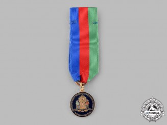 United States. The Hereditary Order of Descendants of the Loyalists and Patriots of the American Revolution Membership Miniature Medal