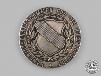 Germany, Imperial. A Rhine Province Agricultural Merit Medal