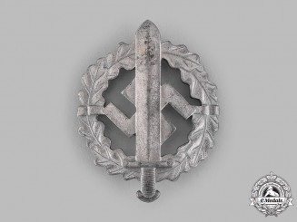 Germany, SA. A Sports Badge, Silver Grade, by Werner Redo